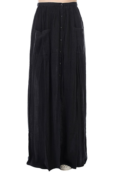 Юбка женская Billabong Honey Maxi Solid Off Black