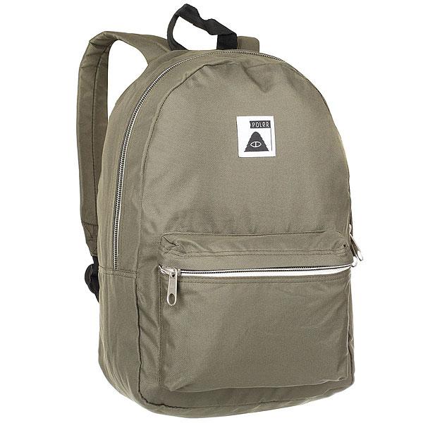 Рюкзак городской Poler Rambler Burnt Olive<br><br>Цвет: зеленый<br>Тип: Рюкзак городской<br>Возраст: Взрослый
