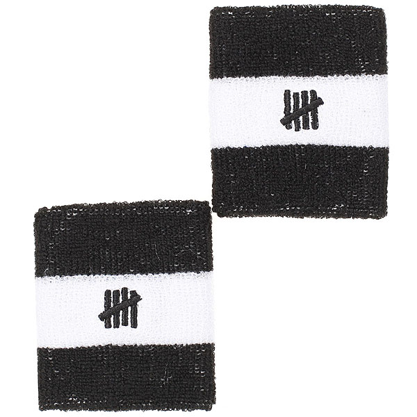 Напульсники Undefeated 5 Strike Sweatbands Black от Proskater