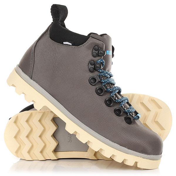 Ботинки высокие Native Fitzsimmons Treklite Dbln Grey/Pigeon Grey/Bone ботинки native native na723amxna37