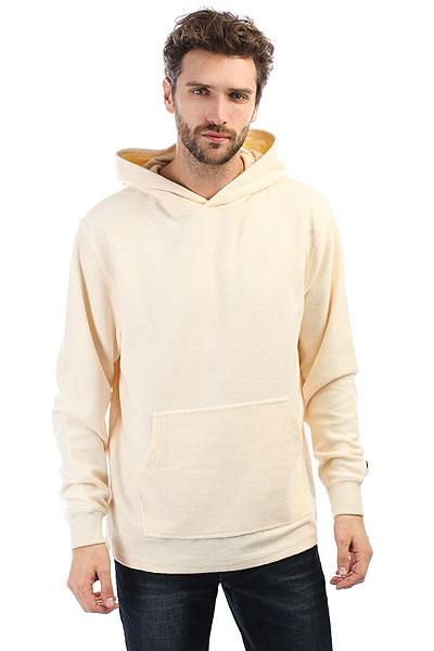 Толстовка кенгуру Undefeated Bank Pullover Hood Off White<br><br>Цвет: бежевый<br>Тип: Толстовка кенгуру<br>Возраст: Взрослый<br>Пол: Мужской