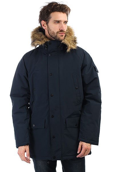 Куртка зимняя Carhartt WIP Anchorage Parka Dark Navy/Black scubapro anchorage trilaminate drysuit