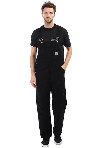 Комбинезон Carhartt WIP Bib Overall Black<br><br>Цвет: черный<br>Тип: Комбинезон<br>Возраст: Взрослый<br>Пол: Мужской