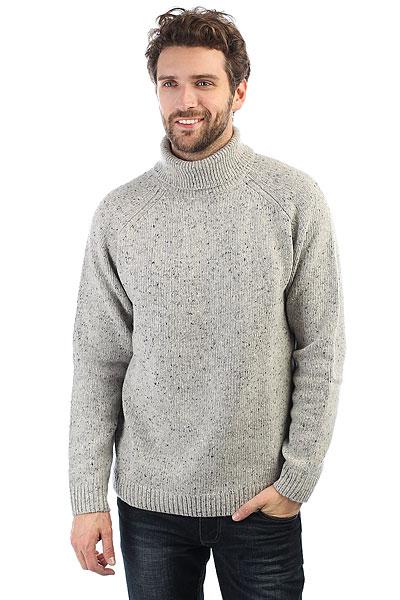 Свитер Carhartt WIP Anglistic Turtleneck Sweater Grey Heather lole свитер lsw1974 moss sweater xl rumba red heather