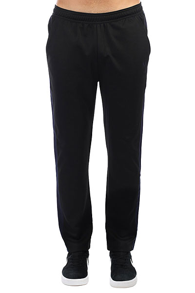 Штаны спортивные Fred Perry Contrast Panel Track Pant Black fred perry ремень fred perry woven cord belt black