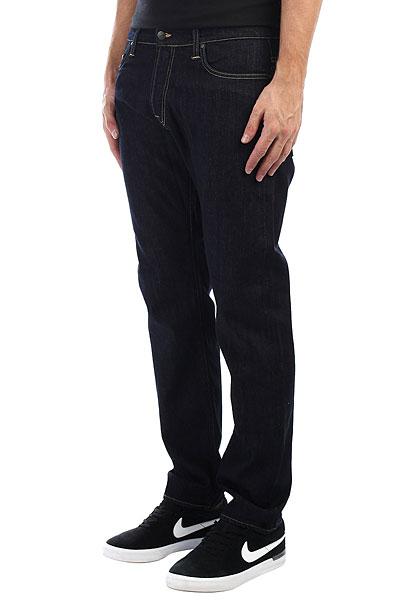 Джинсы прямые Carhartt WIP Klondike Pant Blue(rinsed) куртка carhartt wip i021118 hamilton brown tobacco rinsed