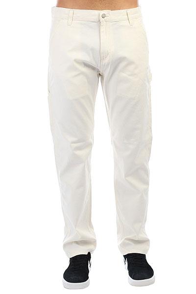 Джинсы прямые Carhartt WIP Ruck Single Knee Pant Wax (Rinsed)<br><br>Цвет: белый<br>Тип: Джинсы прямые<br>Возраст: Взрослый<br>Пол: Мужской