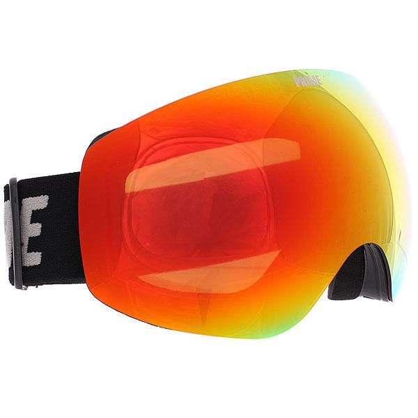 Маска для сноуборда Prime Aviator RedСноубордическая маска, созданная, чтобы получать удовольствие от катания на склоне. Самые необходимые функции и ничего лишнего!Технические характеристики: Двойная линза.Антибликовое покрытие.Защита от запотевания.Линзы устойчивы к царапинам.Вентиляционные отверстия.Маска совместима со шлемом.Ремешок с силиконом для защиты от скольжения.100% защита от ультрафиолета.<br><br>Цвет: черный<br>Тип: Маска для сноуборда<br>Возраст: Взрослый<br>Пол: Мужской