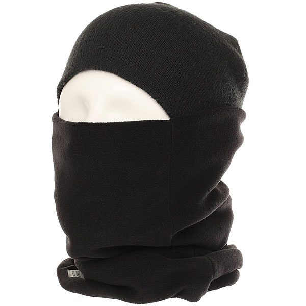 Шарф труба Terror Snow Tube Mask Black Null<br><br>Цвет: черный<br>Тип: Шарф труба<br>Возраст: Взрослый<br>Пол: Мужской
