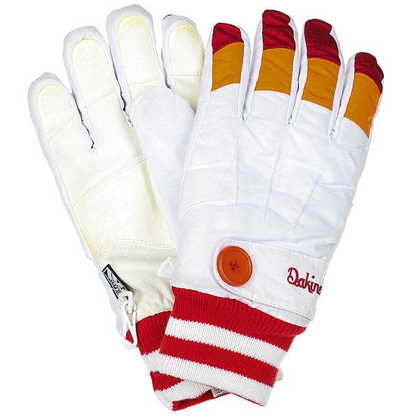 Перчатки сноубордические женские Dakine Falcon Glove White перчатки dakine navigator glove rust
