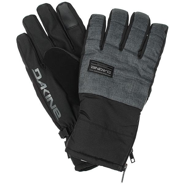 Перчатки сноубордические Dakine Omega Glove Carbon перчатки сноубордические dakine scout glove rasta