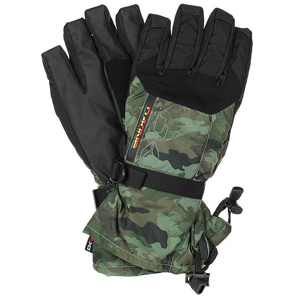 Перчатки сноубордические Dakine Scout Glove Rasta варежки dakine leather scout glove black tan