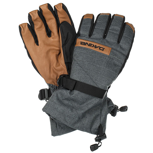 Перчатки сноубордические Dakine Nova Glove Carbon перчатки сноубордические женские dakine rouge glove lagoon