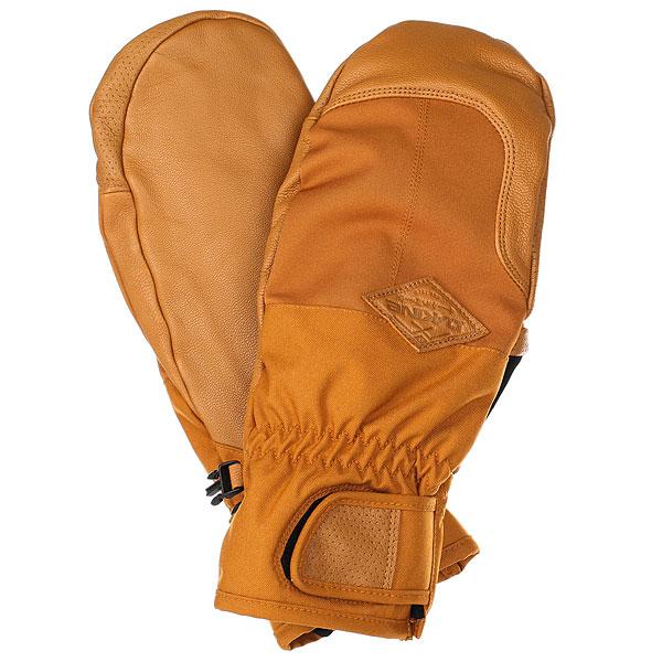 Варежки сноубордические Dakine Charger Mitt Ginger перчатки сноубордические dakine scout glove rasta