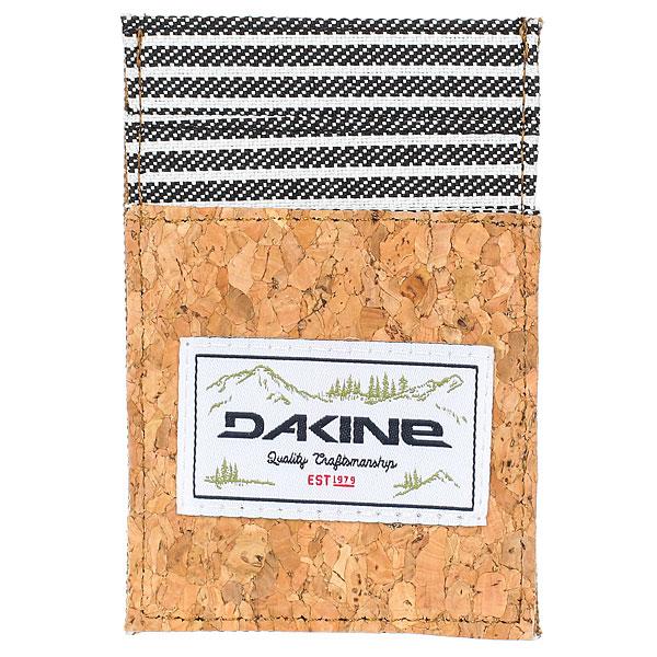 Визитница Dakine Kane Card Wallet Railyard<br><br>Цвет: коричневый,черный,белый<br>Тип: Визитница<br>Возраст: Взрослый