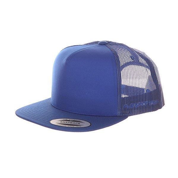 Бейсболка с сеткой Flexfit 6005ff Royal<br><br>Цвет: синий<br>Тип: Бейсболка с сеткой<br>Возраст: Взрослый