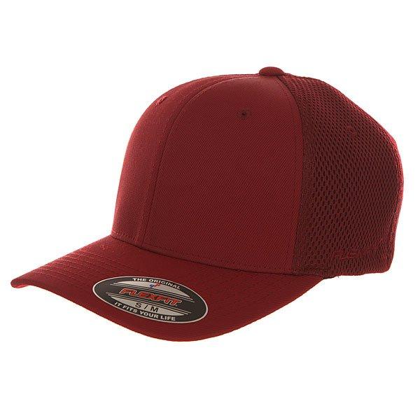 Бейсболка классическая Flexfit 6533 Maroon<br><br>Цвет: бордовый<br>Тип: Бейсболка классическая<br>Возраст: Взрослый