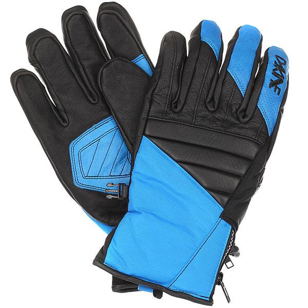 Перчатки Dakine Sabre Glove CobaltЭта модель крепких, теплых спортивных перчаток отлично подойдет для настоящих гонщиков. Перчатки Dakine Sabre Glove прекрасно защищают руки от зимних ветров. Их можно использовать и для повседневной носки.Характеристики:Водоотталкивающие вставки на основе технологии hiporа. Синтетический утеплитель. Водоотталкивающий кожа на ладони и тыльной области перчатки. Водоотталкивающий нейлон/полиуретан, флис/ткань с начесом.Фиксатор запястья на молнии.<br><br>Цвет: черный,голубой<br>Тип: Перчатки<br>Возраст: Взрослый<br>Пол: Мужской