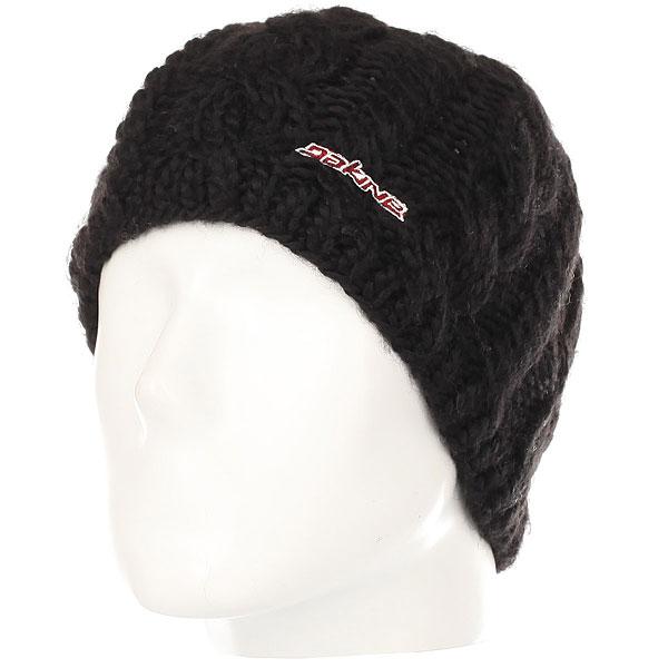 Шапка женская Dakine Vine Black<br><br>Цвет: черный<br>Тип: Шапка<br>Возраст: Взрослый<br>Пол: Женский