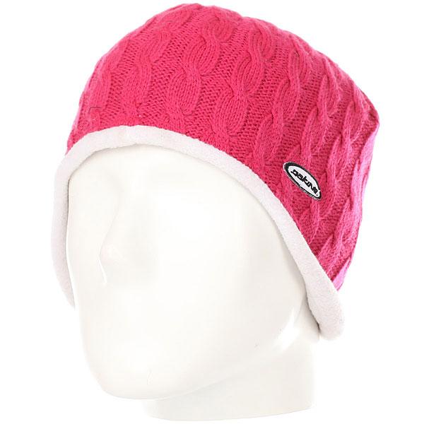 Шапка женская Dakine Low Rise Pink<br><br>Цвет: Темно-розовый<br>Тип: Шапка<br>Возраст: Взрослый<br>Пол: Женский