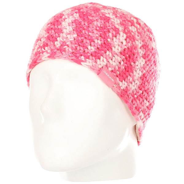 Шапка женская Dakine Valarie Pink<br><br>Цвет: розовый,белый<br>Тип: Шапка<br>Возраст: Взрослый<br>Пол: Женский
