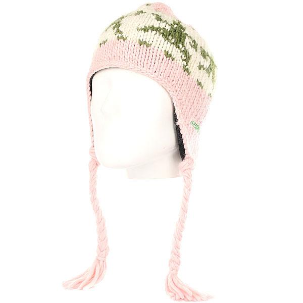 Шапка женская Dakine Skodi Pink<br><br>Цвет: белый,розовый,зеленый<br>Тип: Шапка<br>Возраст: Взрослый<br>Пол: Женский