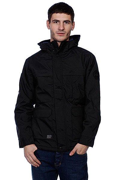 Куртка зимняя Matix Victory BlackЭта модель мужской куртки предназначена в качестве верхней одежды в зимний период. Дополнительно по всей поверхности внешней ткани имеется покрытие, которое обеспечивает водоотталкивающее свойство. Для защиты шеи модель имеет высокий воротник-стойку. Дополнительными элементами, которые выделяют эту модель куртки, являются нагрудные карманы, которые имеют двойную структуру. В нижней части куртки так же имеются два кармана для рук и один карман выполнен на боковой части рукава, закрывающийся молнией.<br><br>Цвет: черный<br>Тип: Куртка зимняя<br>Возраст: Взрослый<br>Пол: Мужской