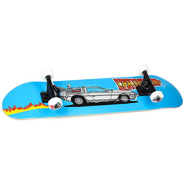 Скейтборд в сборе Footwork Future Light Blue/Multi 31 x 7.6 (17.8 см)<br><br>Цвет: голубой,мультиколор<br>Тип: Скейтборд в сборе<br>Возраст: Взрослый<br>Пол: Мужской