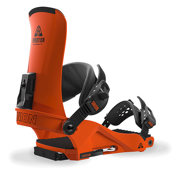 Крепления для сноуборда Union Expedition Orange