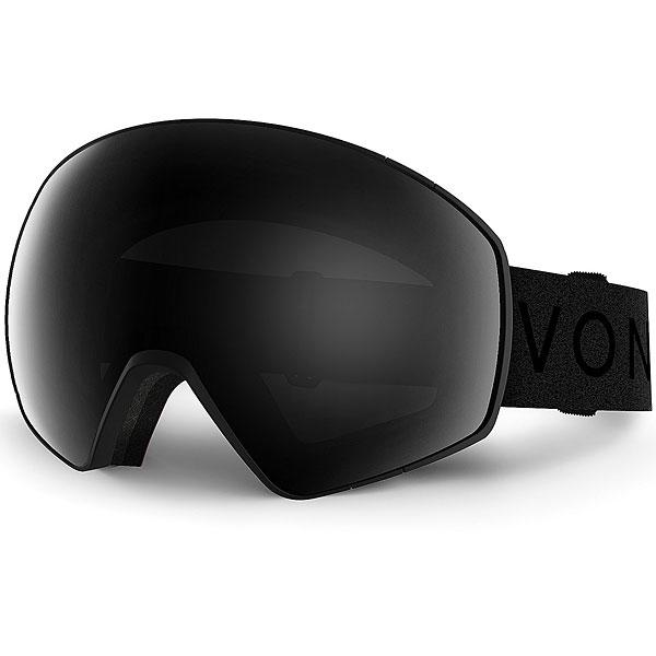 Маска для сноуборда Von Zipper Jetpack Black Satin / Blackout что прописать чтобы jetpack на с рфе
