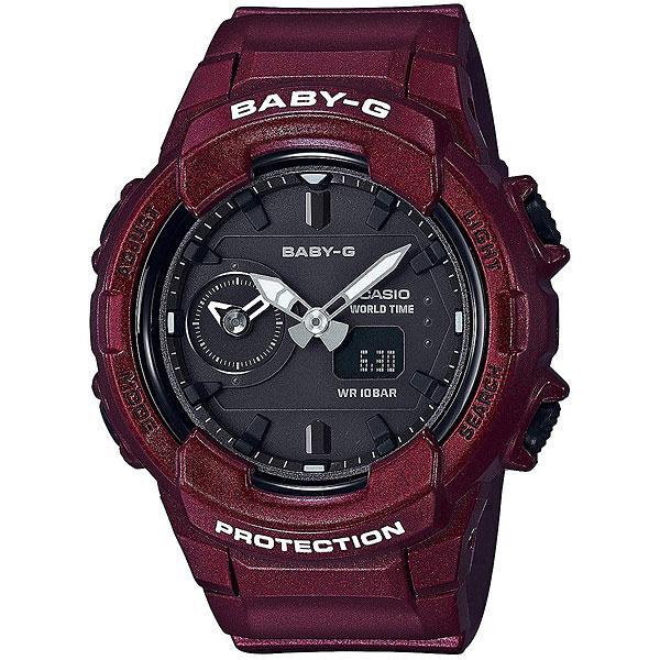 Электронные часы Casio Baby-g Bga-230s-4a Burgundy часы наручные casio часы baby g ba 110tx 4a
