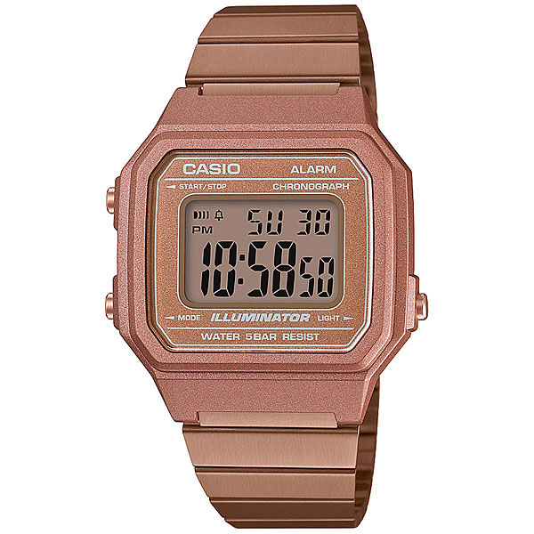 Электронные часы Casio Collection B650wc-5a Pink Gold часы casio ltp e118g 5a