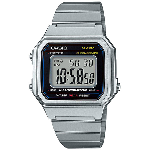 Электронные часы Casio Collection B650wd-1a Grey часы casio collection 56735 ae 1200whd 1a grey