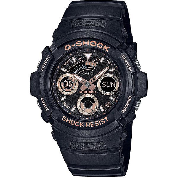 Электронные часы Casio G-Shock Aw-591gbx-1a4 Black casio g shock g classic ga 110mb 1a