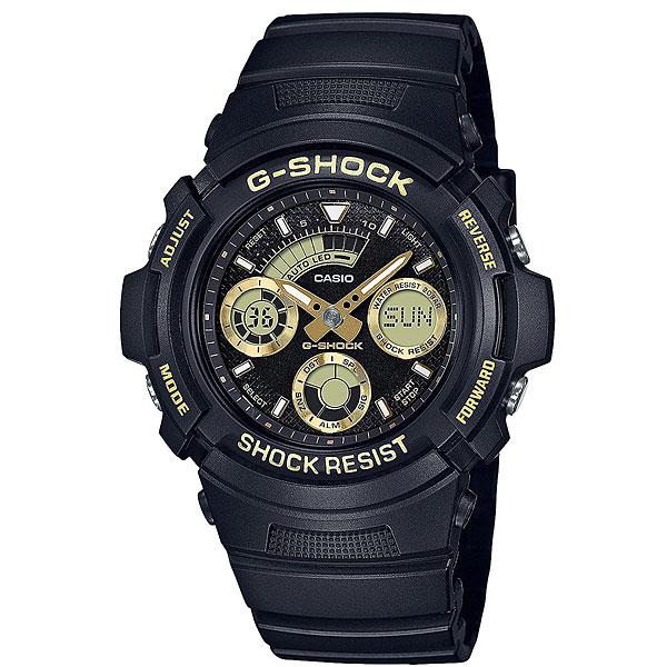 Электронные часы Casio G-Shock Aw-591gbx-1a9 BlackНадежные и функциональные часы в спортивном корпусе из полимерного пластика и нержавеющей стали.Технические характеристики: Автоматическая светодиодная подсветка.Ударопрочная конструкция защищает от ударов и вибрации.Неоновый дисплей.Функция мирового времени.Функция секундомера - 1/100 сек. - 1 час.Таймер - 1/1 мин. - 1 час (с автоматическим повтором).5 ежедневных будильников.Функция повтора будильника.Автоматический календарь.12/24-часовое отображение времени.Минеральное стекло.Корпус из нержавеющей стали и полимерного пластика.Ремешок из полимерного материала.Срок службы аккумулятора 3 года.<br><br>Цвет: черный<br>Тип: Электронные часы<br>Возраст: Взрослый<br>Пол: Мужской