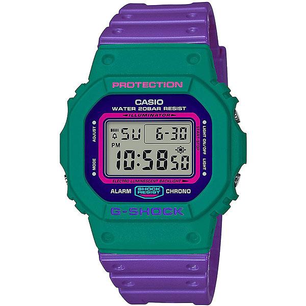 Электронные часы Casio G-Shock Dw-5600tb-6e Purple/Green casio g shock g classic ga 110mb 1a