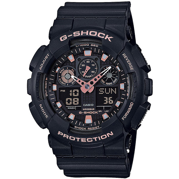 Электронные часы Casio G-Shock Ga-100gbx-1a4 Black casio часы g shock ga 100 1a4