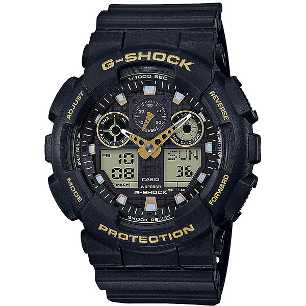Электронные часы Casio G-Shock Ga-100gbx-1a9 Black электронные часы casio g shock ga 110pc 1a black light blue