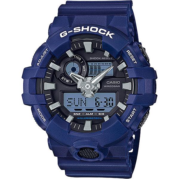 Электронные часы Casio G-Shock Ga-700cm-2a Blue электронные часы casio g shock ga 110pc 1a black light blue