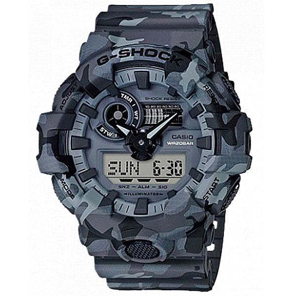 часы casio g shock ga 110ht 8a grey Электронные часы Casio G-Shock Ga-700cm-8a Grey/Black
