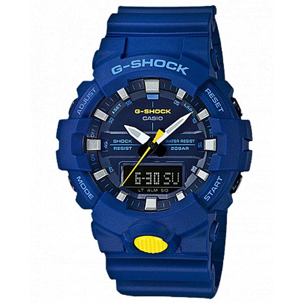 Электронные часы Casio G-Shock Ga-800sc-2a Blue электронные часы casio g shock ga 110pc 1a black light blue