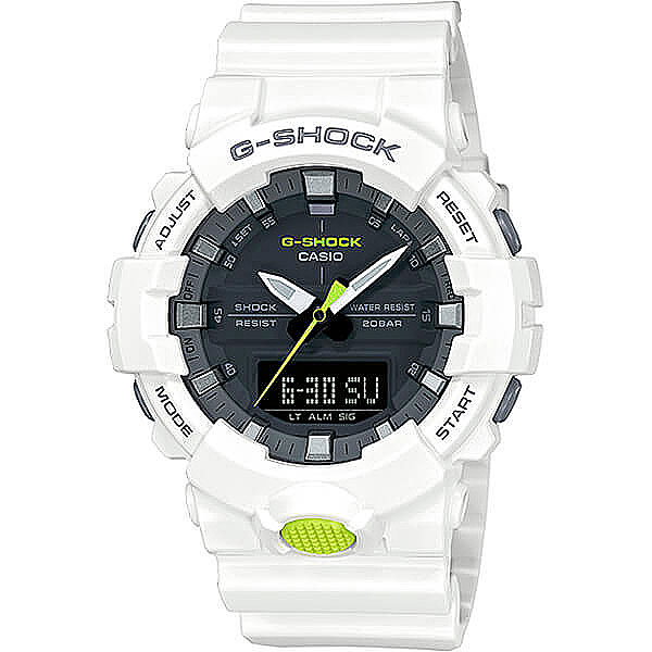 Электронные часы Casio G-Shock Ga-800sc-7a White casio g shock ga 110tp 7a