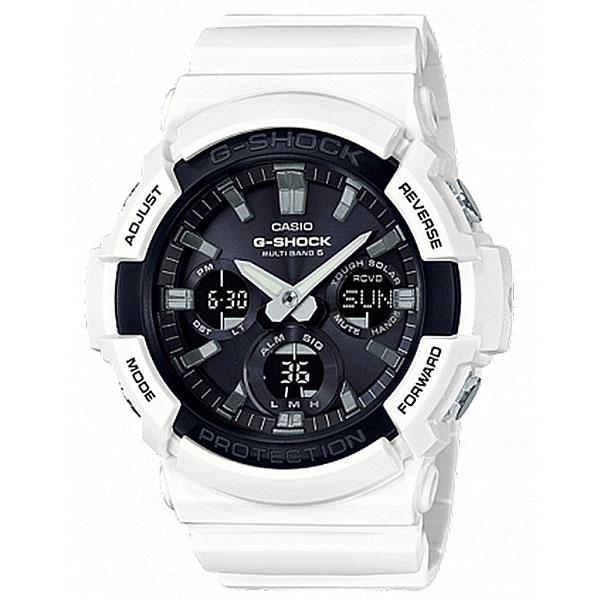 Электронные часы Casio G-Shock Gaw-100b-7a White/Black casio g shock g classic ga 110mb 1a