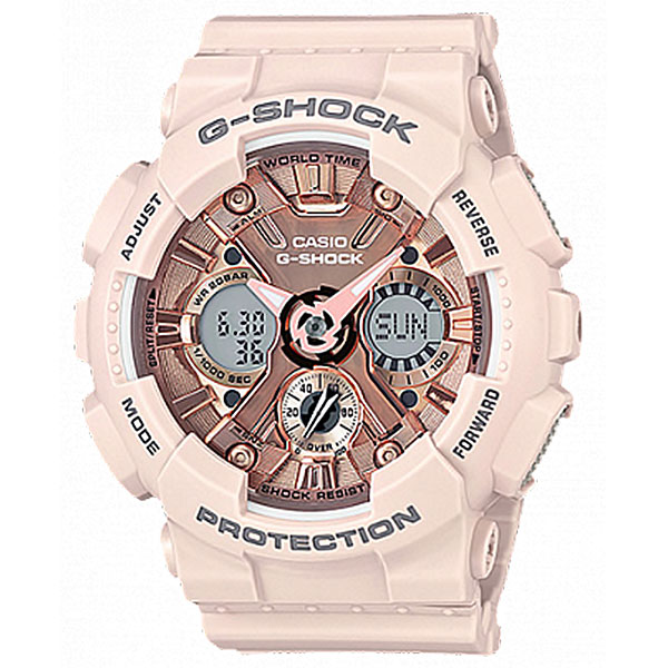 Электронные часы женский Casio G-Shock Gma-s120mf-4a Pink casio gma s120mf 4a