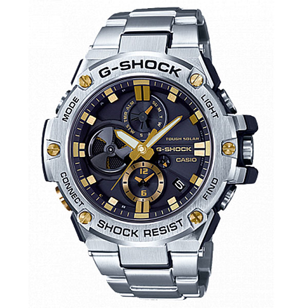 Электронные часы Casio G-Shock Gst-b100d-1a9 Grey часы наручные casio часы baby g ba 120tr 7b