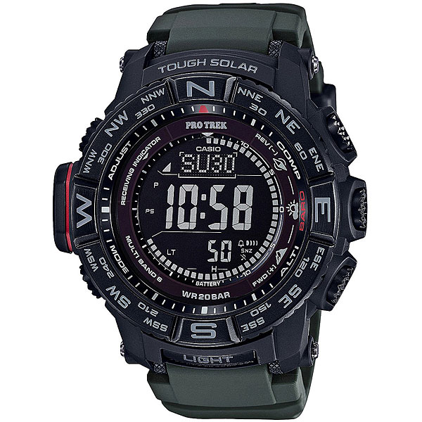 Электронные часы Casio Sport Prw-3510y-8e Black casio часы casio prw 3510y 1e коллекция pro trek