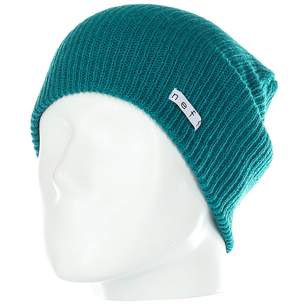 Шапка носок Neff Daily Beanie Dark Teal шапка neff fold beanie teal
