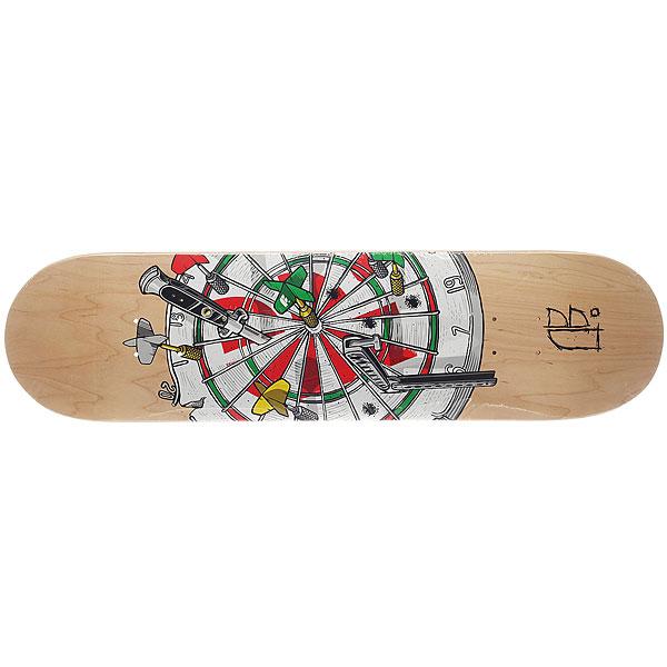 Дека для скейтборда для скейтборда Footwork Original Darts 32.5 x 8.25 (21 см) дека для скейтборда для скейтборда almost s6 impact plus youness junk on my prick 31 7 x 8 25 21 см