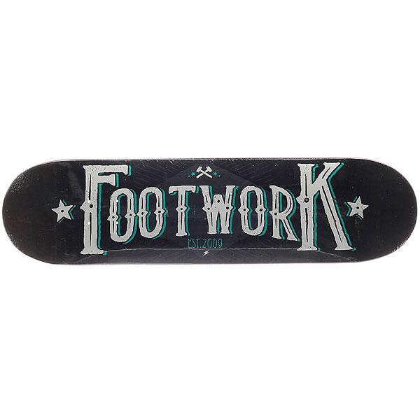 Дека для скейтборда для скейтборда Footwork Original National 31.6 x 8 (20.3 см)Ширина деки: 8 (20.3 см)    Длина деки: 31.6 (80.3 см)    Количество слоев: 7<br><br>Цвет: черный,белый,голубой,серый<br>Тип: Дека для скейтборда<br>Возраст: Взрослый<br>Пол: Мужской