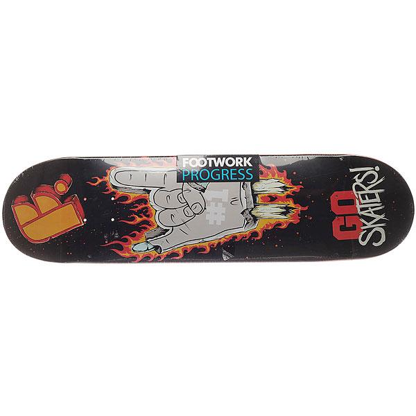Дека для скейтборда для скейтборда Footwork Progress Go Rock 32.1 x 8.375 (21.3 см) дека для скейтборда для скейтборда footwork progress artist series globe 31 875 x 8 125 20 6 см